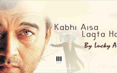 Kabhi Aisa Lagta Hai | Lucky Ali | Piano | Notes