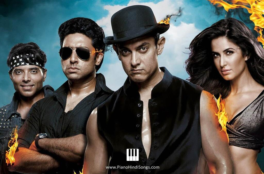 Bande Hain Hum Uske | Dhoom 3 | Piano | Notes